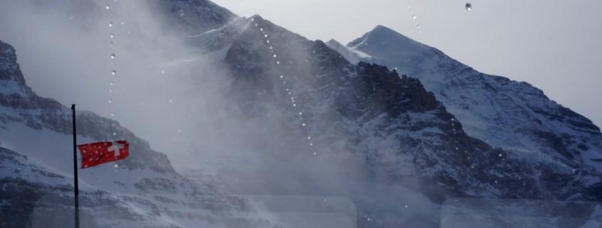 Down from the Jungfraujoch