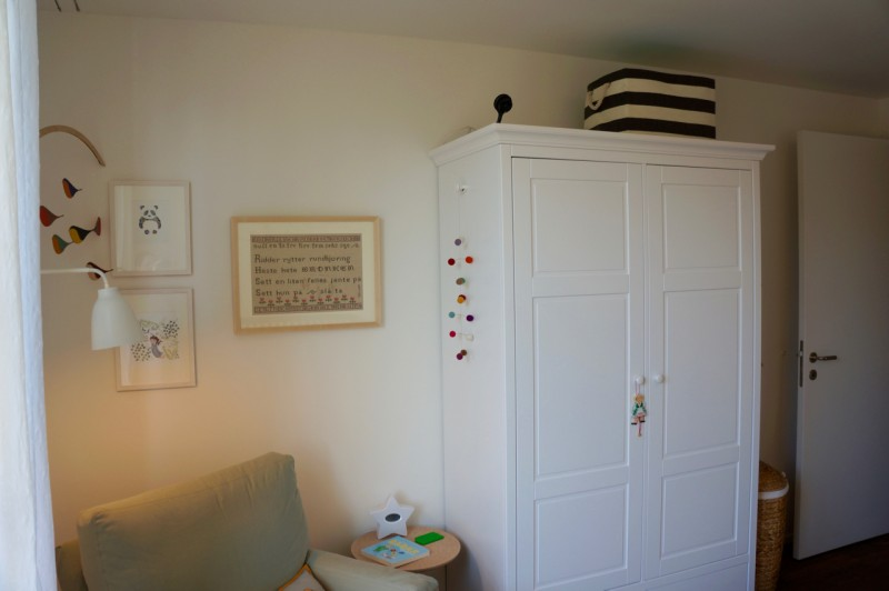 room for reading, rocking, and storage