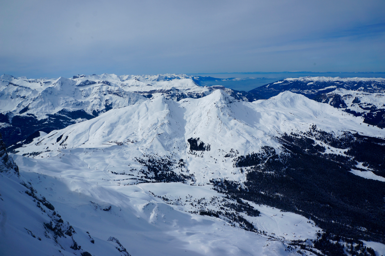 view from the Eigerwand